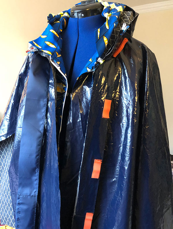 Home Sewing Waterproof Raincoat